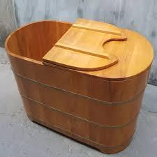 Sản phẩm bồn tắm gỗ chuẩn quy cách quốc tế