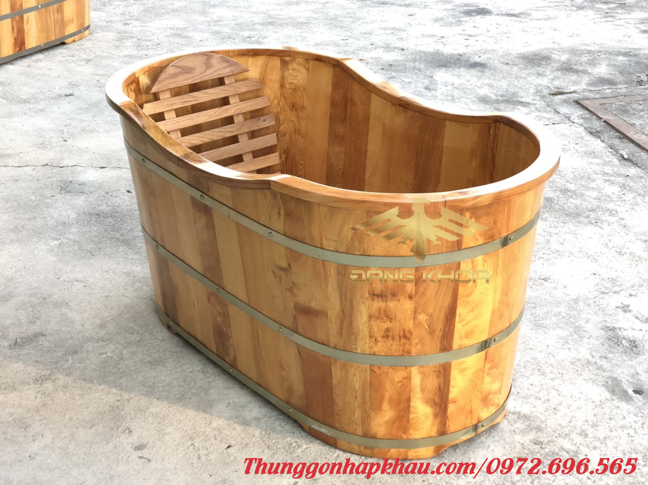 Bồn tắm gỗ tp hcm